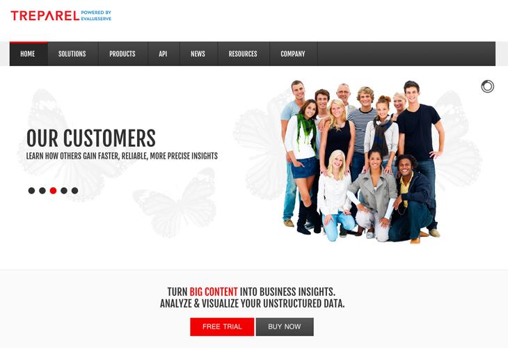 Ik heb de website van Treparel uit Den Haag gebouwd in WordPress