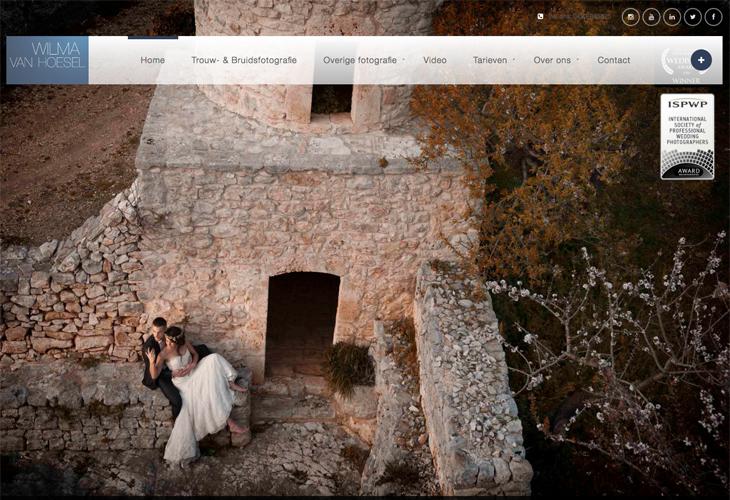 Ik heb de website van Wilma van Hoesel uit Deurne gebouwd in WordPress