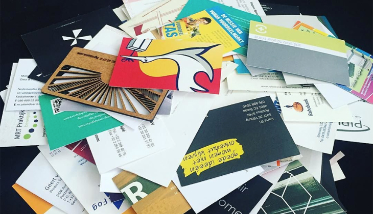 Throw away your business cards colourmoves