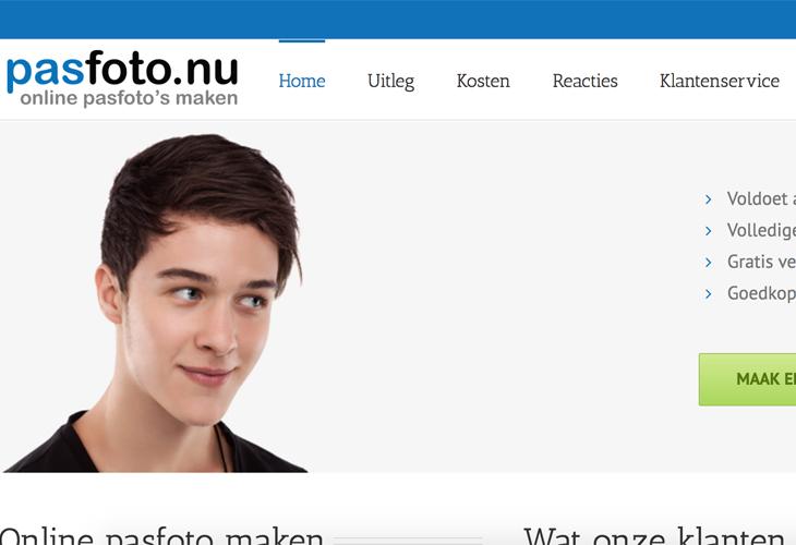Ik heb de website van Pasfoto.nugebouwd in WordPress