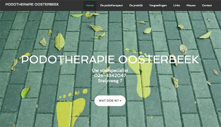 Ik heb de website van Podotherapie Oosterbeek gebouwd in WordPress