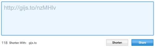 URL verkorten met Bitly