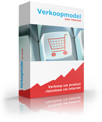 Verkoopmodel voor internet door internetondernemer Gijs Heerkens.