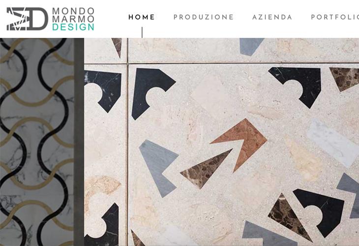 Ik heb de website van marmerleverancier Mondo Marmo uit Italië gebouwd in WordPress