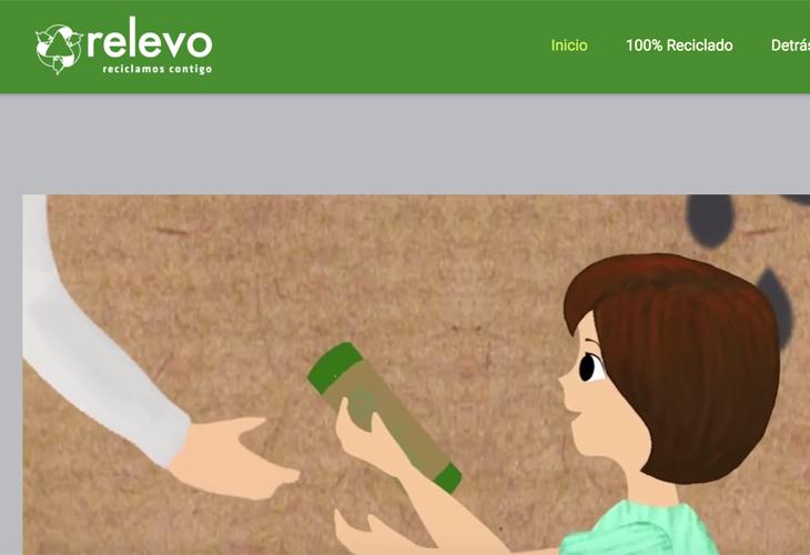 Ik heb de website van consumentenproduct Relevo uit Barcelona gebouwd in WordPress